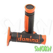 Domino Handlebar Grips fit KTM SX 85 125 150 200 250 300 EXC Cross X-TREME BK/OR