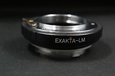 EXA-LM adapter Exakta  Topcon lens to Leica M LM Camera  M240 M10 TECHART LM EA7