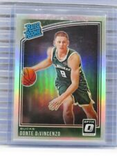 2018-19 Donruss Optic Donte DiVincenzo Holo Prizm Rated Rookie Bucks R25