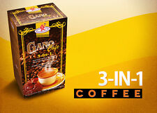 Gano Cafe 3 In 1 Coffee Ganoderma Lucidum Reishi 1 Box