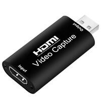 Audio Video Capture Cards MI to USB 2.0 1080P 4K Record Via DSLR Camcorder Act