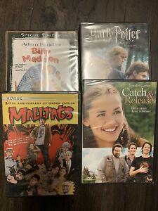 Mallrats, Billy Madison, Harry Potter, Catch and Release dvd nip