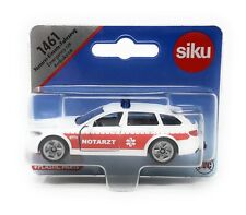 Siku 1461 BMW 5er Touring Notarzt Ambulance white blister card DieCast toy car