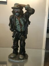 "Emmett Kelly Jr-Flambro-Limited Collection-""Looking Out To See"" #10320 Of 12000"