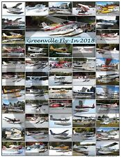 INTERNATINAL SEAPLANE FLY-IN GREENVILLE MAINE AIRCRAFT POSTER 2018