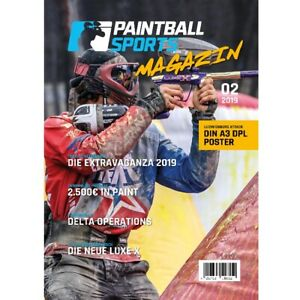 Paintball Sports Magazin - Das Paintball Sports Kundenheft (Ausgabe 02/2019)