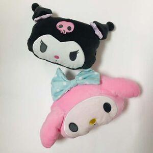 2pcs kuromi melody head plush pillow cushion car pillows cushion fashion