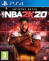 NEW & SEALED! NBA 2K20 Sony Playstation 4 PS4 Game