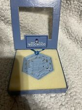 wedgwood christmas ornaments- Blue Jasper Christmas Candle