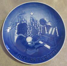 """B&G Bing & Grondahl Denmark Christmas Plate 1971 """"Christmas At Home"""" #9071"""