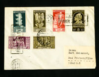 Hitler and Mussolini 1938 Stamped Meeting Cover