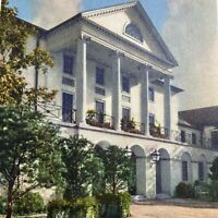 Postcard VA Williamsburg Inn Colonial Williamsburg Inc Runca 1951