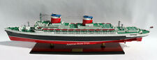 """SS United States Ocean Liner Handcrafted Model 35"""" Museum Quality Scale 1/350"""