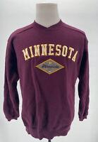 Vintage 90s Starter Minnesota Golden Gophers Burgundy Crewneck Sweatshirt SZ M