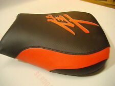 HAYABUSA 1999/00/01/02/03/04/05/06/07 GSXR1300 FRONT SEAT COVER  BLACK/FIRE RED