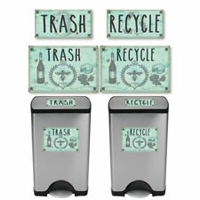 Vintage Farmhouse Styled | Country French | Trash and Recycle Label Stickers