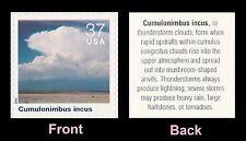 US 3878e Cloudscapes Cumulonimbus incus 37c single MNH 2004