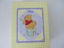 Disney Winnie The Pooh Baby Memories Box Plush Pooh Rattle Photo Album Etc #7850