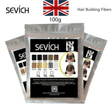 UK Sevich Refill Hair Fibers Keratin Building Thickening 100g Pack Fibre Loss