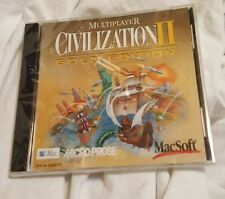 Civilization II: Multiplayer Gold Edition (Apple, 1998) - Rare Mac Game