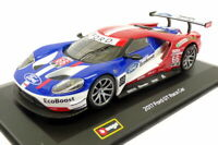 Burago 1/32 Scale Diecast 18-41159 - 2017 Ford GT Race Car - #66