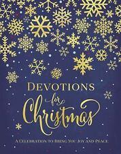 DEVOTIONS FOR CHRISTMAS - ZONDERVAN PUBLISHING HOUSE (COR) - NEW HARDCOVER BOOK