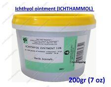Ichthyol ointment 10%, ICHTHAMMOL, burns, eczema, dermatitis  200gr 7oz Russia