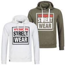 Vision Street Wear Crew Sweat Herren Kapuzen Sweatshirt Skater Streetwear neu