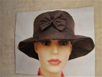 Tandy ladies hat lady hat ladies rain hat cotton lined comfort warm gift present