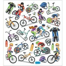 Creativ, Sticker Sheet, Bicycles, 16,5 x 15 cm 25 Stickers, 1 Sheet