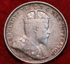 1903-H Canada 5 Cents Silver Foreign Coin