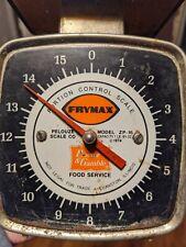 Pelouze Vintage Scale 16ozproctor Amp Gamble Food Service Zp 16 Evanston Il 1974