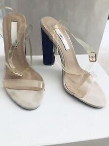 BELLINI Heels 6 NUDE & CLEAR