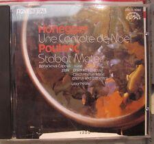Honegger Cantate de Noel Poulenc Stabat Mater *1986 Japan CD * 33CO-1090 ¥3,300