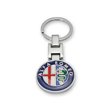 Porte-Clés en Métal Logo Alfa Romeo Giulietta Giulia Stelvio Mito