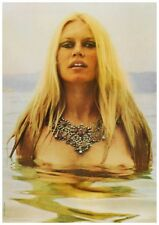 Brigitte Bardot  *MUST SEE POSTER*  SEXY NUDE Very Rare AMAZING Image