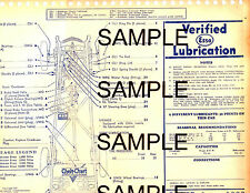 1934 DODGE 6 (DR) (DS) 34 & 1935 DODGE SIX (DU) 35 LUBRICATION LUBE CHARTS E