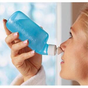 "Nasopure PLUS the ""FORMULA"" to make saline solution NASAL rinse Virus Flu cold"
