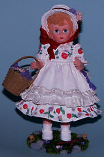"""Madame Alexander resin doll figure, """"Thinking of You"""" #90450 friends, flowers"""
