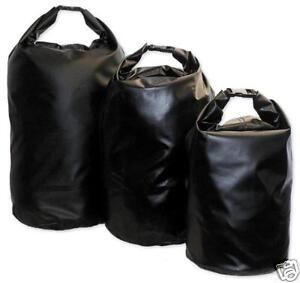 30L DRY BAG WATERPROOF Black Tough camping sack sailing yachting hiking pouch