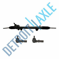 Complete Power Steering Rack and Pinion + Outer Tie Rod Ends for Dodge Dakota