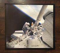 "Vintage NASA Space Shuttle Cargo Arm Poster 17 x 18"""