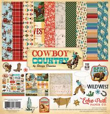 Echo Park Carta Bella 'Cowboy Country' Scrapbook 12x12 Paper Kit Western Horses