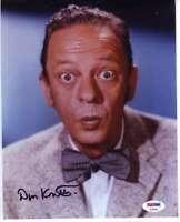Don Knotts Psa Dna Coa Hand Signed 8x10 Photo Original Autograph