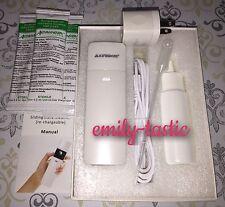 Asthmanefrin ALTERNATIVE Starter Kit Portable Nebulizer Inhaler WHITE +5 Vials