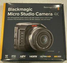 BRAND NEW SEALED Blackmagic Micro Studio Camera 4K , 6G-SDI connections