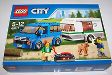 LEGO City CARAVAN & VAN  60117  New in box sealed. Express post option. *