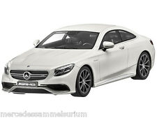 Mercedes Benz S Class Coupe S 63 AMG White Limited 1:18 NIP