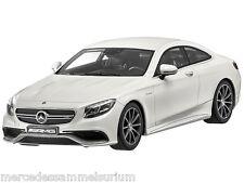 Mercedes Benz S Klasse Coupe S 63 AMG Weiß Limitiert 1:18 Neu OVP