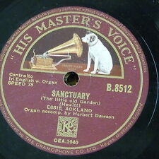 78rpm ESSIE ACKLAND sanctuary / just for today